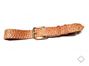 giovanniceleste.it cintura intrecciata pelle canguro - kangaroo plaited belt (5)