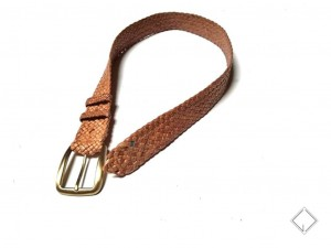 giovanniceleste.it cintura intrecciata pelle canguro - kangaroo plaited belt (6)