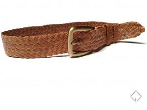 giovanniceleste.it cintura intrecciata pelle canguro - kangaroo plaited belt (7)