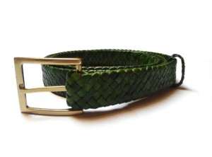 braided plaited kangaroo hide belt - cintura intrecciata pelle canguro  (8)