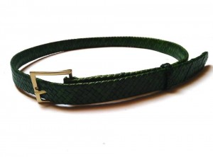 braided plaited kangaroo hide belt - cintura intrecciata pelle canguro  (9)