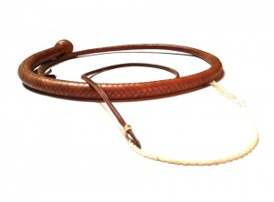 Snake whip braided kangaroo leather frusta snake whip intrecciata in pelle di canguro (13)