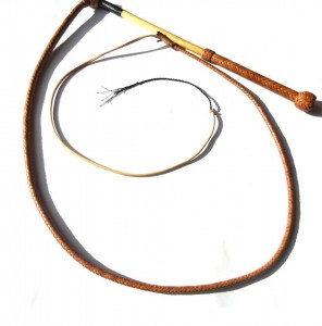 Classic stock whip 8 plait kangaroo stock whip intreccio in 8 listine canguro (3)
