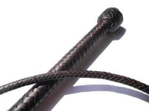 Classic stock whip 8 plait kangaroo stock whip intreccio in 8 listine canguro marrone (12)