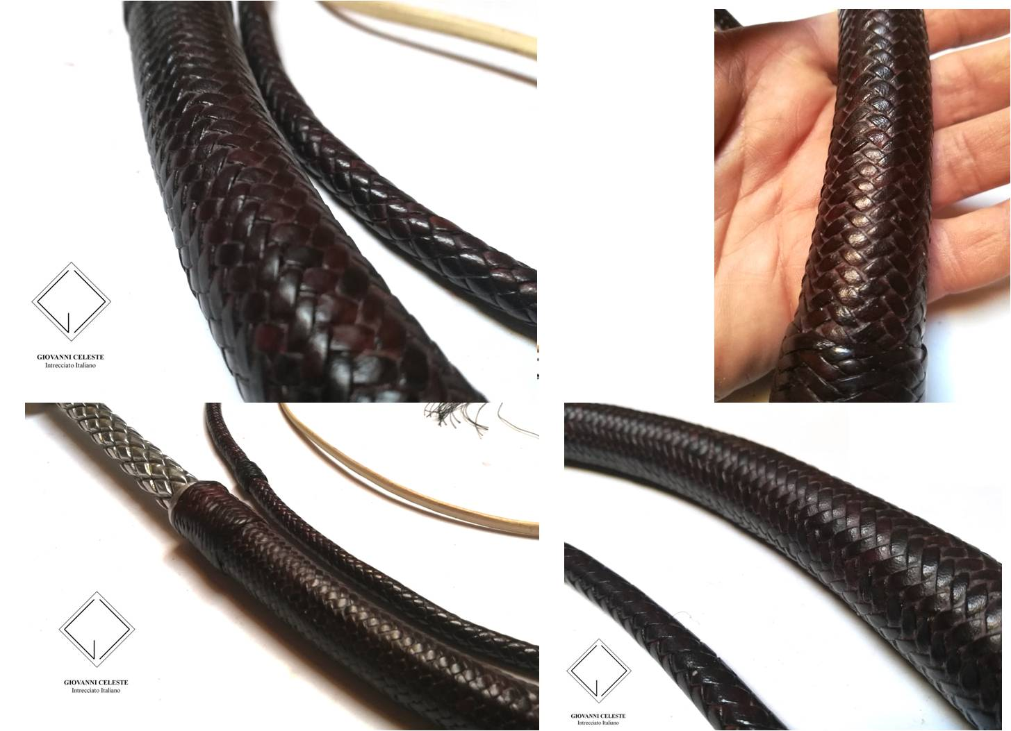 How much does a leather kangaroo whip cost?