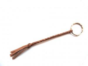 plaited keyfob