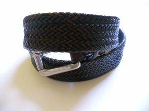 Cintura tubolare intrecciata in 16 strisce (2)