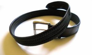Cintura tubolare intrecciata in 16 strisce (3)