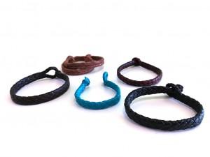 giovanniceleste.itBraided Plaited kangaroo hide bracelets colors-   Bracciali  intrecciati in pelle di canguro colori(6).jpg