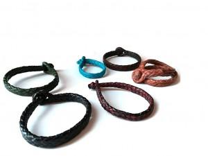 giovanniceleste.itBraided Plaited kangaroo hide bracelets colors-   Bracciali  intrecciati in pelle di canguro colori(7).jpg