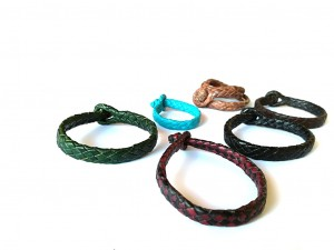giovanniceleste.itBraided Plaited kangaroo hide bracelets colors-   Bracciali  intrecciati in pelle di canguro colori(8).jpg
