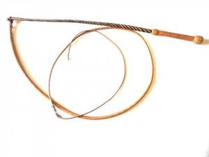 Tamer  Kangaroo leather whip Frusta domatore  intreccio in pelle di canguro  (10)