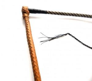 Tamer  Kangaroo leather whip Frusta domatore  intreccio in pelle di canguro  (12)