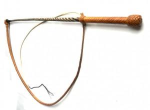 Tamer  Kangaroo leather whip Frusta domatore  intreccio in pelle di canguro  (14)