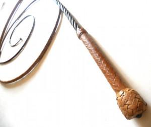 Tamer  Kangaroo leather whip Frusta domatore  intreccio in pelle di canguro  (18)