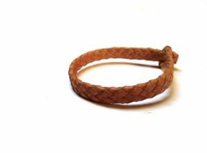 Braided Plaited kangaroo hide bracelets -   Bracciali  intrecciati in pelle di canguro (5)