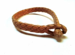 Braided Plaited kangaroo hide bracelets -   Bracciali  intrecciati in pelle di canguro (6)