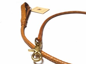 Braided plaited kangaroo hide dog leash - guinzaglio intrecciato in pelle di canguro (10)