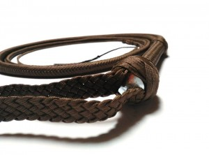 Indiana Jones style paracord whip dark brown frusta Paracord Indiana jones style moro (2)