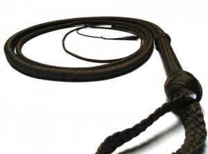 Indiana Jones style paracord whip dark brown frusta Paracord Indiana jones style moro (4)