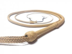 Indiana Jones style paracord whip frusta Paracord Indiana jones style naturale (6)