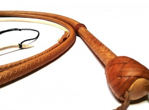 Raiders whip indiana jones replica natural tan - Raiders whip replica frusta indiana jones naturale (3)