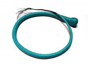 Signal whip braided kangaroo leather frusta Signal whip (2)