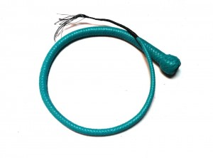 Signal whip braided kangaroo leather frusta Signal whip (3)