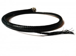 Signal whip braided kangaroo leather frusta Signal whip  (10)