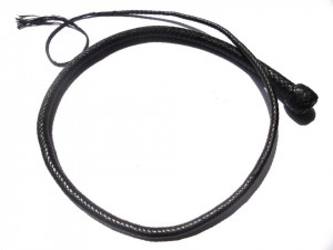 Signal whip braided kangaroo leather frusta Signal whip  (15)
