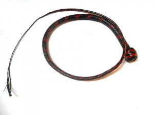 Signal whip braided kangaroo leather frusta Signal whip  (16)
