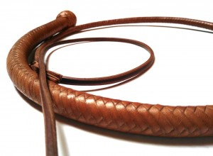 Snake whip braided kangaroo leather frusta snake whip intrecciata in pelle di canguro (1)