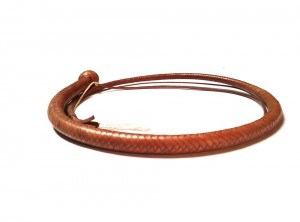 Snake whip braided kangaroo leather frusta snake whip intrecciata in pelle di canguro (11)