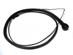 Snake whip braided kangaroo leather frusta snake whip intrecciata in pelle di canguro (6)