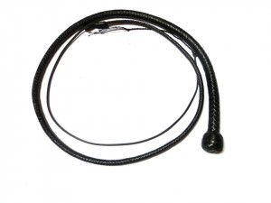 Snake whip braided kangaroo leather frusta snake whip intrecciata in pelle di canguro (7)