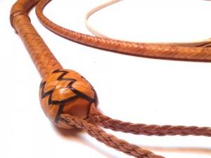Standard Bullwhip kangaroo braided Bullwhip intrecciata in pelle di canguro (34)