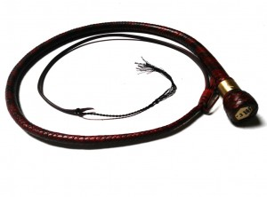 giovanniceleste.it - snake whip con placchetta e collarino inciso in ottone with plate and ferrule brass engraved (1)