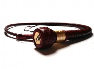 giovanniceleste.it - snake whip con placchetta e collarino inciso in ottone with plate and ferrule brass engraved (3)
